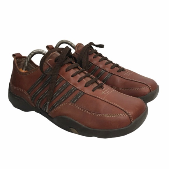 Steve Madden Thundarr Mens Brown Suede Casual Lace Up Oxfords Shoes 9